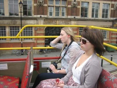 Экскурсия на двухэтажном автобусе