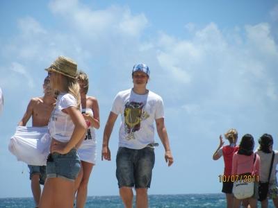 на экскурсии по острову