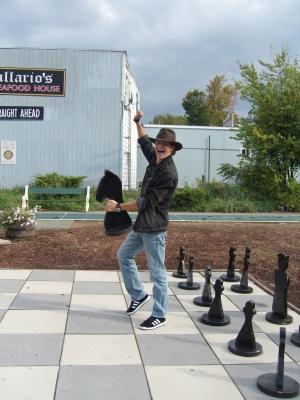 За партией в шахматы