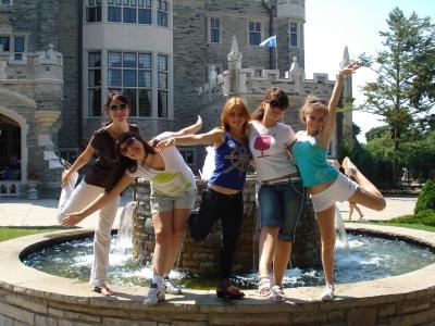 экскурсия в замок, Торонто