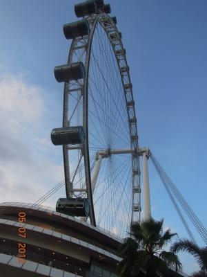 Singapore flyer - Самое высокое колесо обозрения в мире