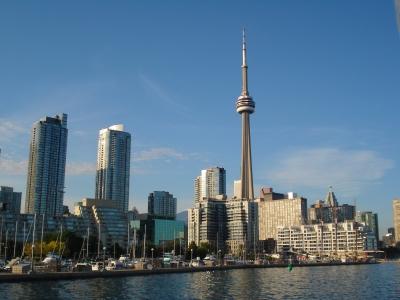 прогулка на катере по озеру Онтарио, Торонто