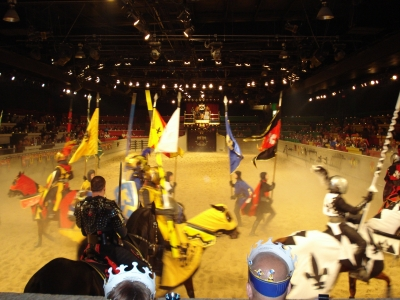 шоу средневековья
