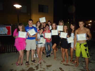 Вот мы и получили сертификаты Университета!