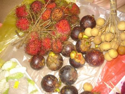 традиционные фрукты Малайзии