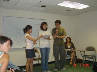 На занятиях в школе английского языка Каплан