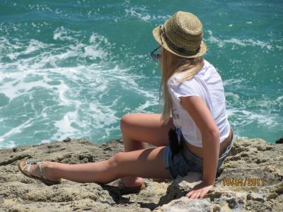 какое красивое море...