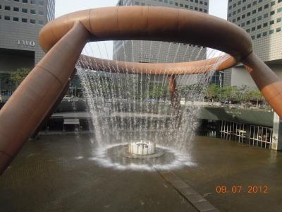 Fountain of Wealth - самый большой фонтан в мире
