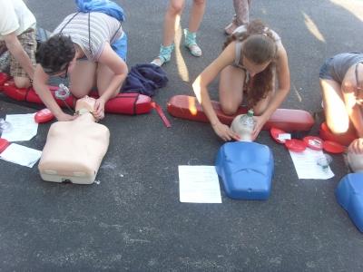Тренинг по оказанию первой помощи