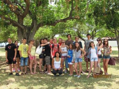 Группа до 18 лет, лето 2011