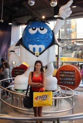 Магазин M&M's в Нью-Йорке