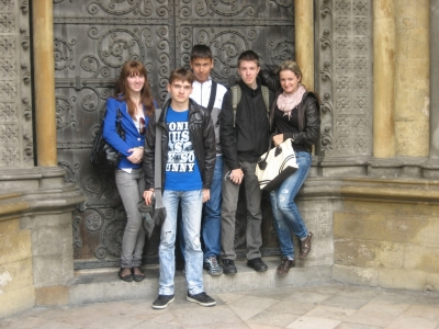 Возле Вестминстерского аббатства